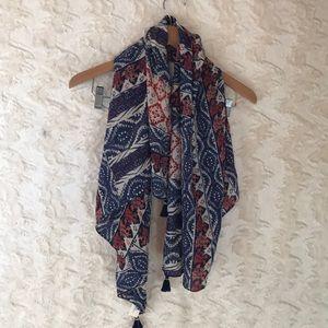 LUCKY BRAND Rockefeller scarf NWT